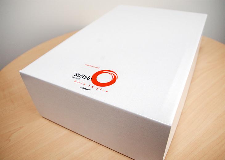 シュトルツル ペアハートシャンパングラス 化粧箱